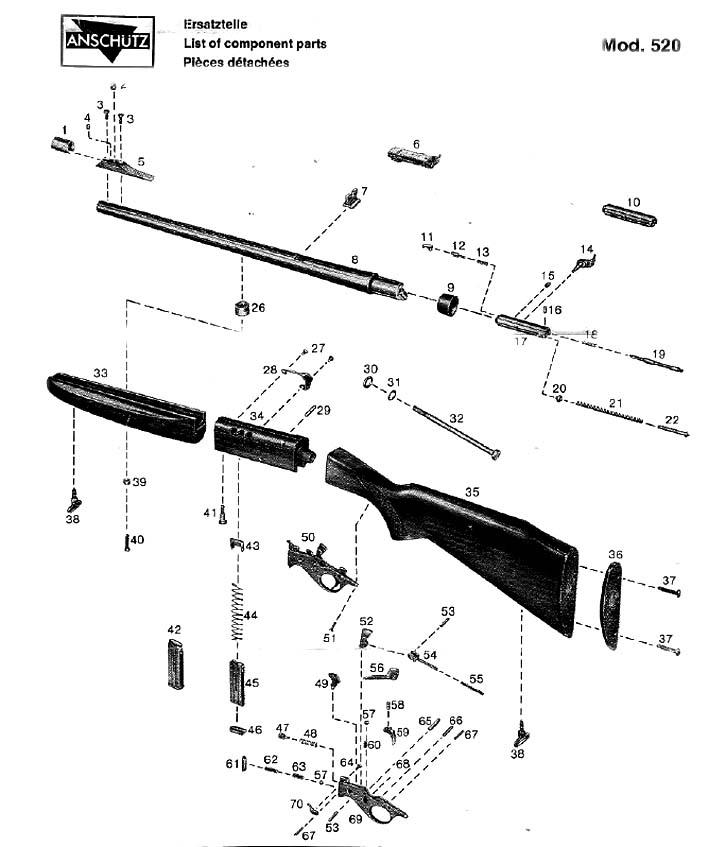 remington woodsmaster 742 parts breakdown