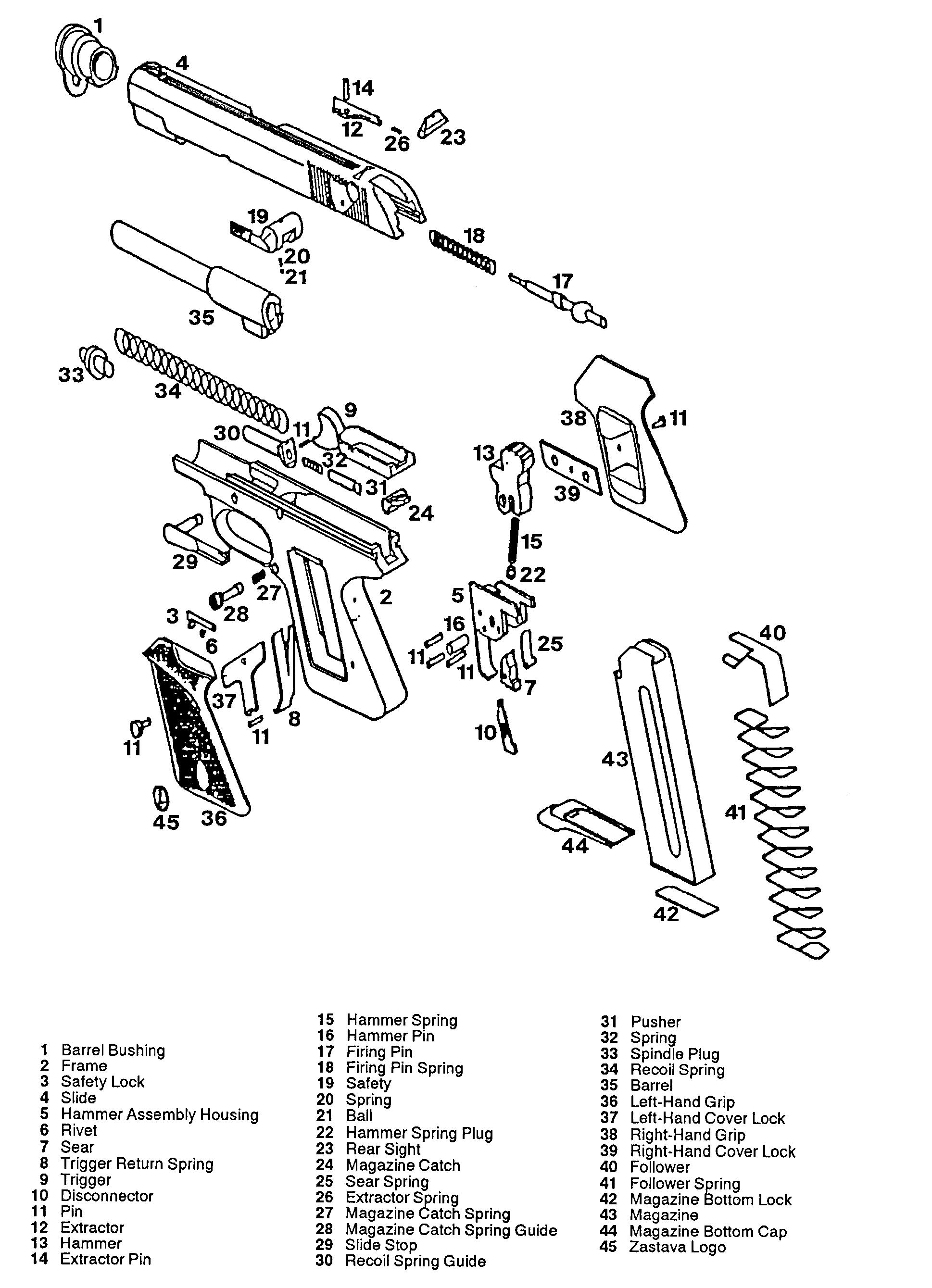 llama 380 parts